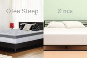 Olee Sleep vs Zinus