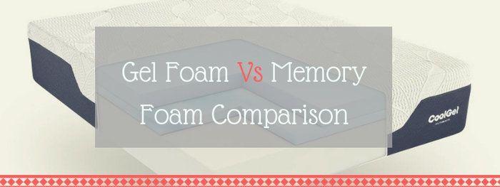 Gel Memory Foam Vs Memory Foam Is There Actually A
