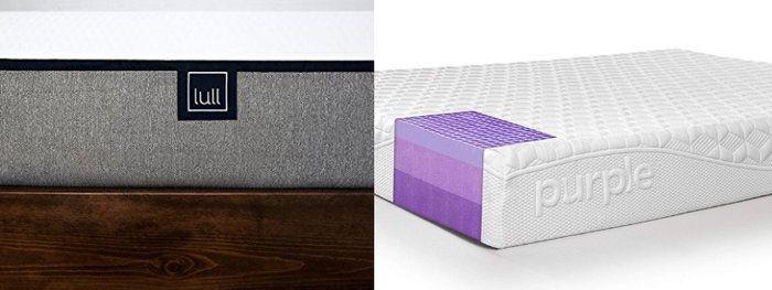 Purple vs Lull Mattress Materials