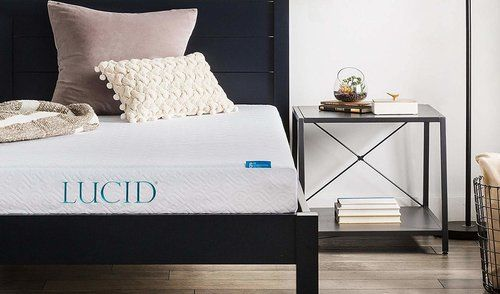 LUCID 6 Inch Gel Infused Memory Foam Mattress