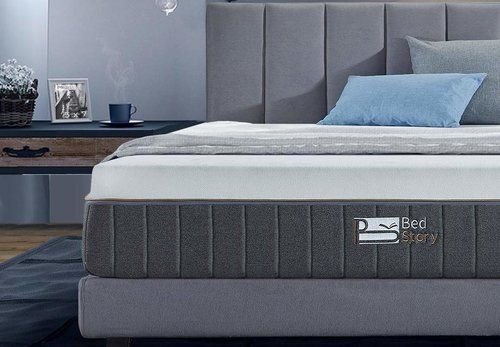 BedStory 12 Inch Gel Memory Foam Mattress