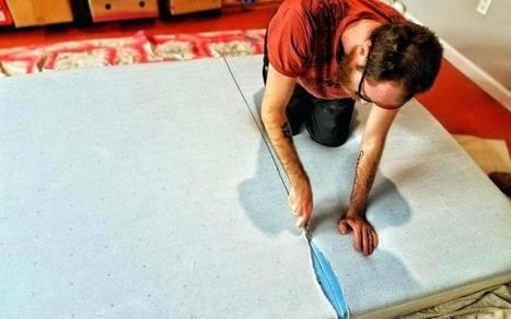 How To Cut Memory Foam Mattress Topper